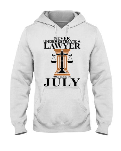 Never Underestimate A Lawyer Was Born In July