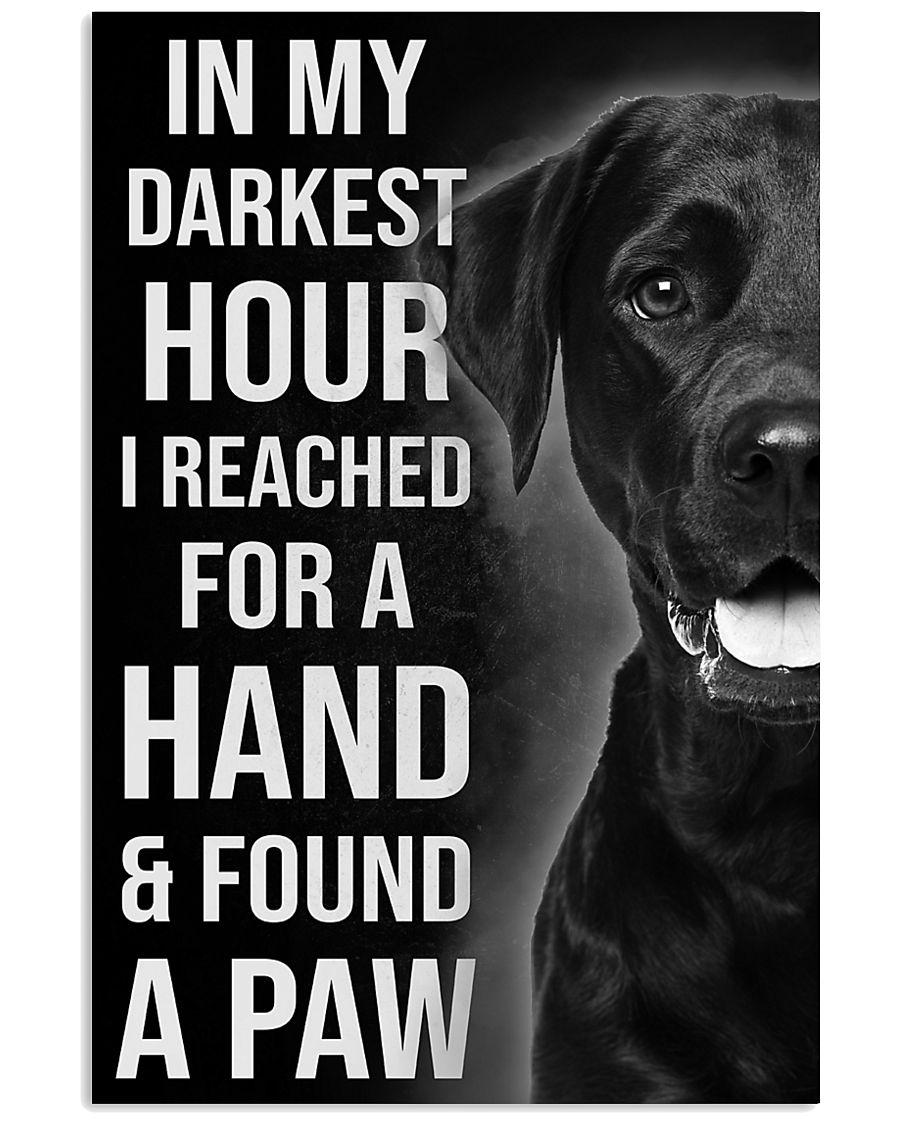 In My Darkest 16x24 Poster