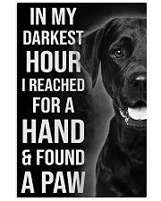 In My Darkest 16x24 Poster front