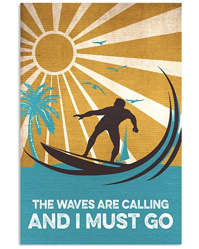 Surfing The Waves Are Calling