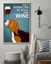Dog Beagle And Wine 16x24 Poster lifestyle-poster-1