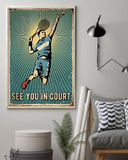 Tennis See You In Court 16x24 Poster lifestyle-poster-1