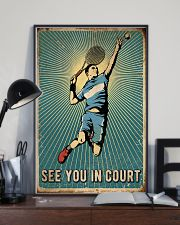 Tennis See You In Court 16x24 Poster lifestyle-poster-2