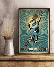 Tennis See You In Court 16x24 Poster lifestyle-poster-3