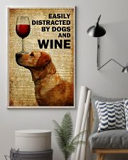 Dogs Easily Distracted By Dogs  16x24 Poster lifestyle-poster-1