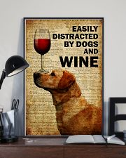 Dogs Easily Distracted By Dogs  16x24 Poster lifestyle-poster-2
