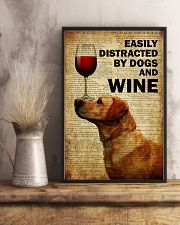 Dogs Easily Distracted By Dogs  16x24 Poster lifestyle-poster-3