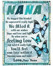 """Family Nana Large Fleece Blanket - 60"""" x 80"""" front"""