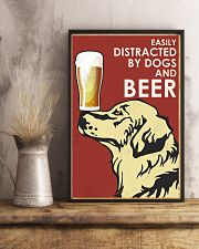 Dog Golden And Beer 16x24 Poster lifestyle-poster-3
