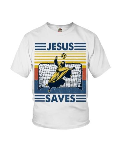 Soccer Jesus Saves