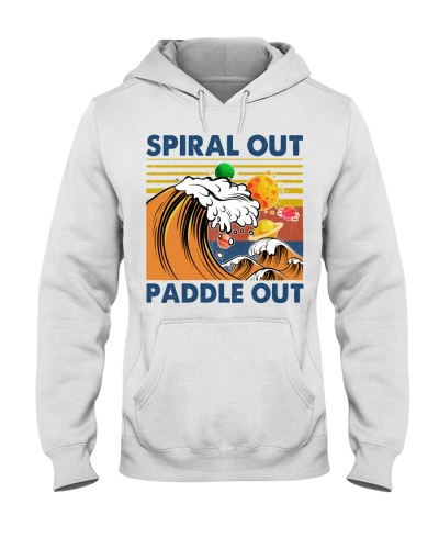 Surfing Spiral Out Paddle Out