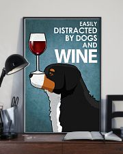 Dog Bernese Mountain And Wine 16x24 Poster lifestyle-poster-2