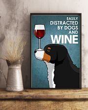 Dog Bernese Mountain And Wine 16x24 Poster lifestyle-poster-3