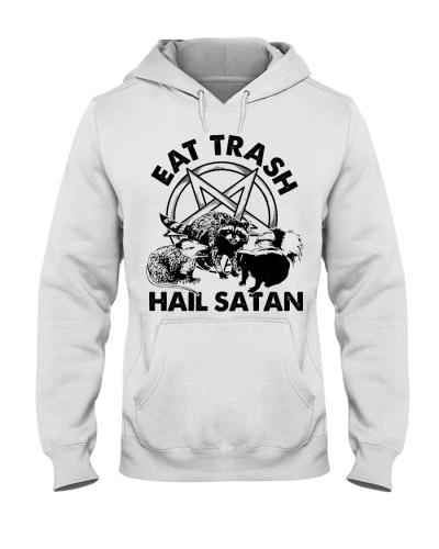 Camping Eat Trash hail Satan