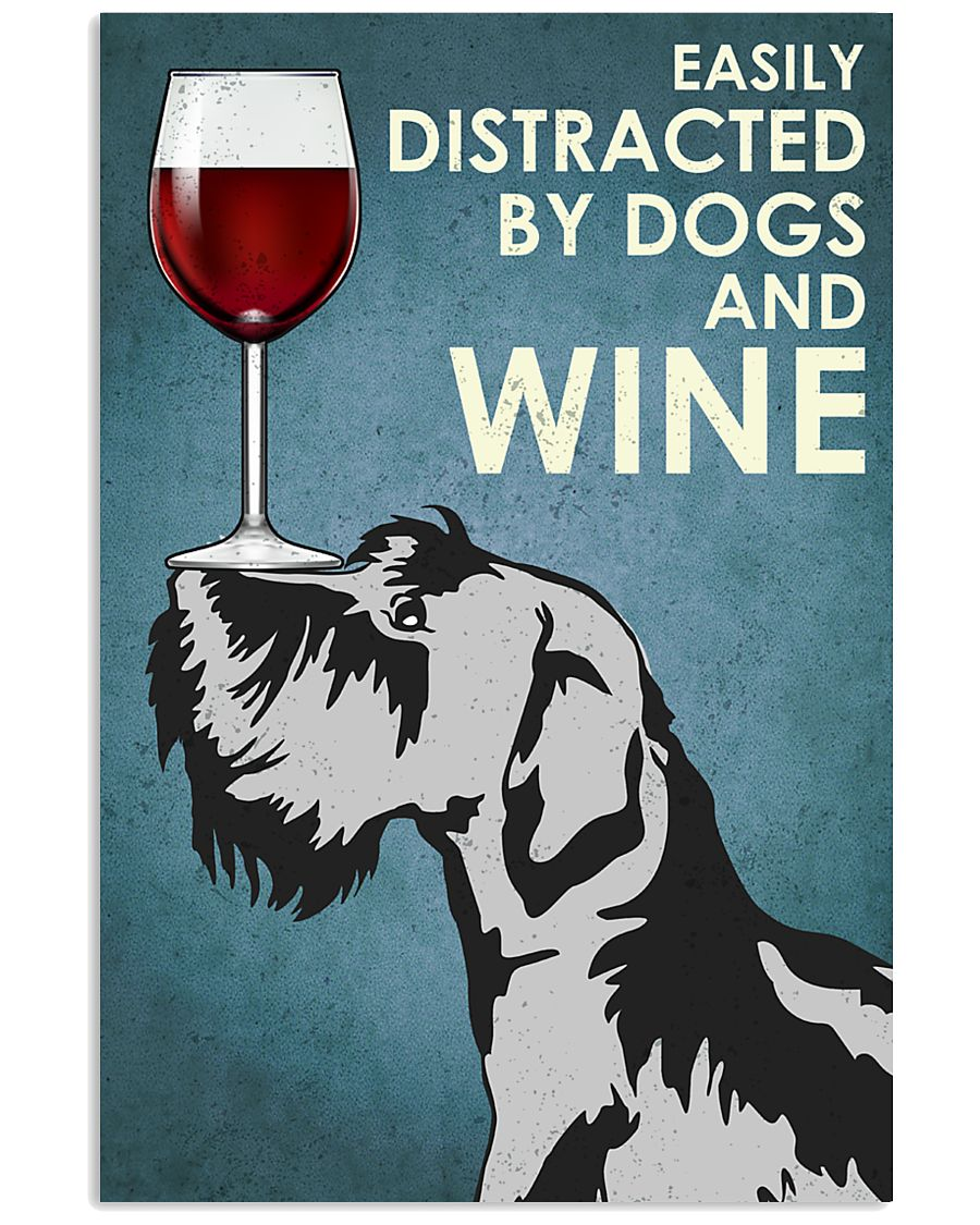 Wine And Dogs 16x24 Poster