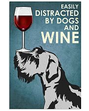 Wine And Dogs 16x24 Poster front