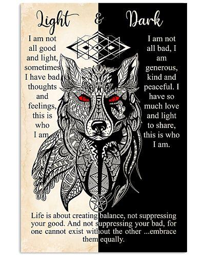Wolves Light And Dark