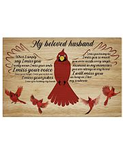 Family My Beloved Husband 36x24 Poster front