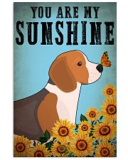 Dog Beagle You Are My Sunshine 16x24 Poster front