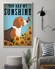 Dog Beagle You Are My Sunshine 16x24 Poster lifestyle-poster-1