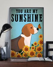 Dog Beagle You Are My Sunshine 16x24 Poster lifestyle-poster-2