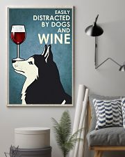 Wine And Husky Dogs  16x24 Poster lifestyle-poster-1