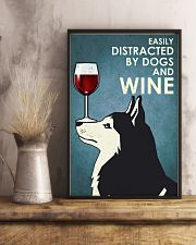 Wine And Husky Dogs  16x24 Poster lifestyle-poster-3