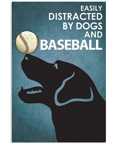 Dog Labrador And Baseball