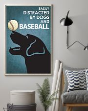 Dog Labrador And Baseball 16x24 Poster lifestyle-poster-1
