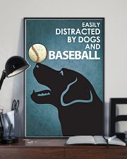 Dog Labrador And Baseball 16x24 Poster lifestyle-poster-2