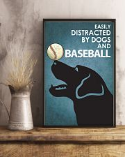 Dog Labrador And Baseball 16x24 Poster lifestyle-poster-3