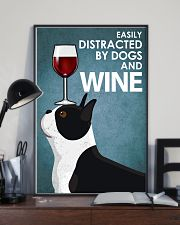 Dog Boston And Wine 16x24 Poster lifestyle-poster-2