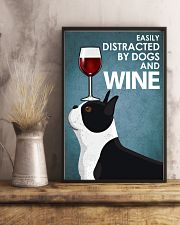 Dog Boston And Wine 16x24 Poster lifestyle-poster-3