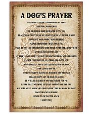 Dog Labrador A Dog's prayer 16x24 Poster front