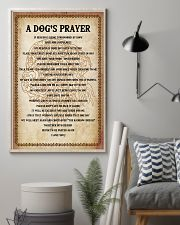 Dog Labrador A Dog's prayer 16x24 Poster lifestyle-poster-1