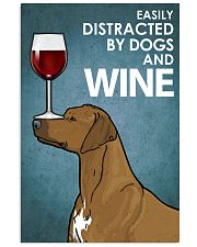 -Rhodesian And Wine 16x24 Poster front