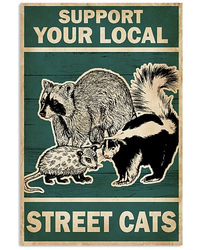 Animal Support Your Local Street Cats