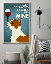 Dog Chihuahua And Wine 16x24 Poster lifestyle-poster-1