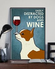 Dog Chihuahua And Wine 16x24 Poster lifestyle-poster-2