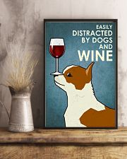 Dog Chihuahua And Wine 16x24 Poster lifestyle-poster-3