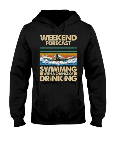 Swimming Weekend Forecast