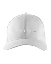 Aviation Heart Beat Embroidered Hat thumbnail