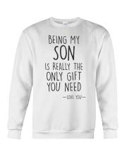 being my son Crewneck Sweatshirt thumbnail