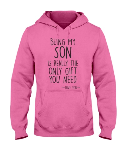 being my son