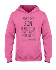 being my son Hooded Sweatshirt front