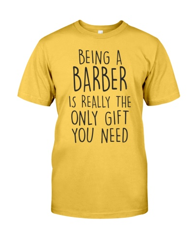 being a barber