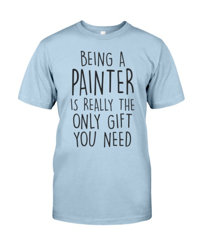 being a painter