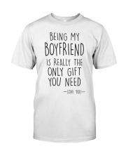 Being My Boyfriend Classic T-Shirt thumbnail
