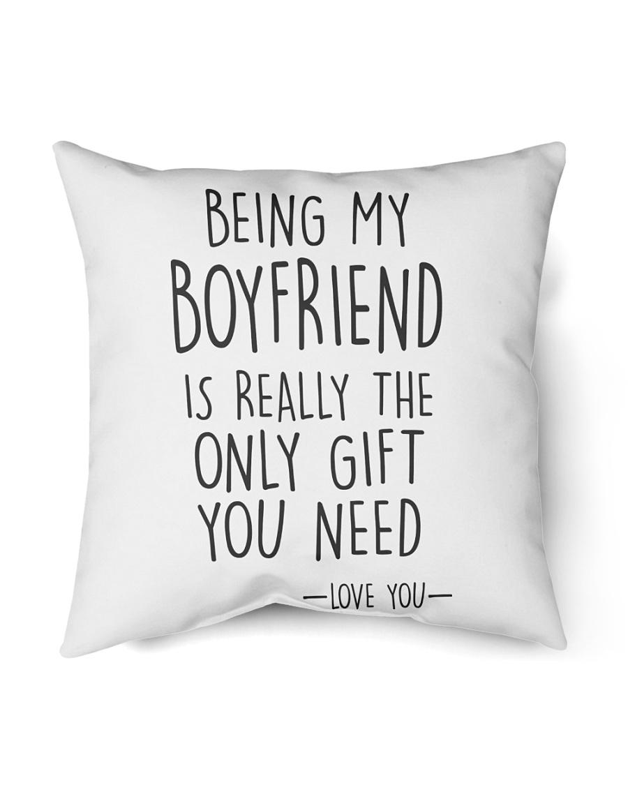 """Being My Boyfriend Indoor Pillow - 18"""" x 18"""""""