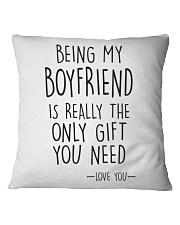 Being My Boyfriend Square Pillowcase thumbnail